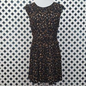 Boden Full-Skirt Lined Sleeveless Dress 10P